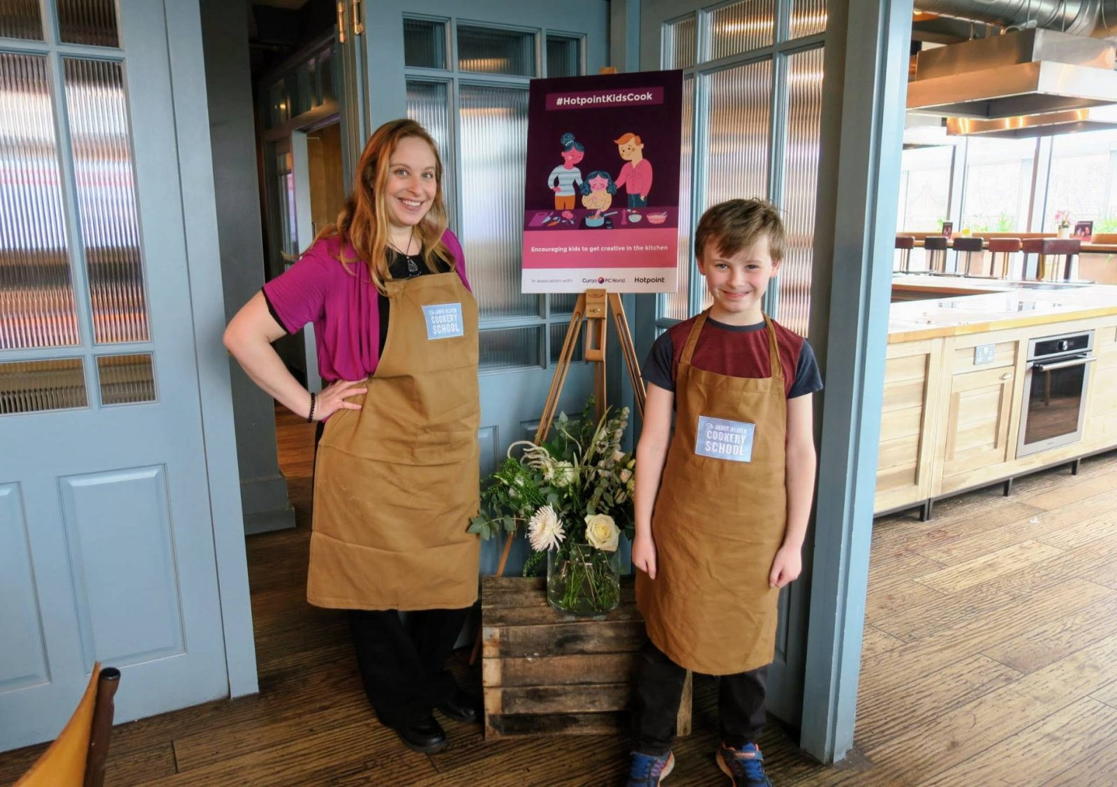 Win With The Hotpoint Healthy Recipe Challenge Plus Our Day at Jamie Oliver's Cookery School