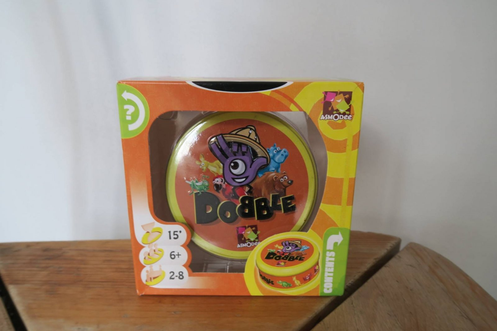 Have you tried Dobble yet? Easy Fun Kids Game + New Animals Version