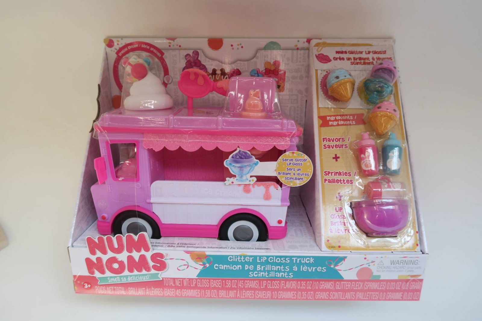 Num Noms Lipgloss Truck Playset Review