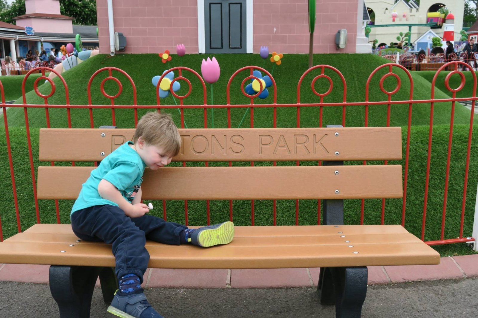 A day out at Peppa Pig World (Paultons Park) and the 2 new rides