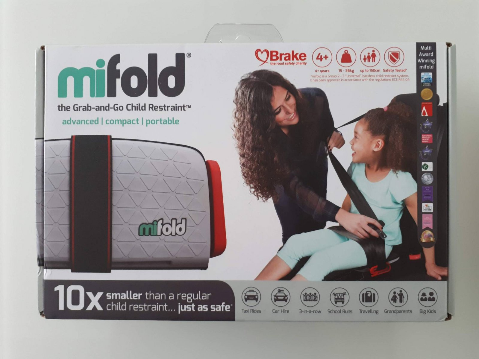 Mifold travel and compact car seat for over 4s review