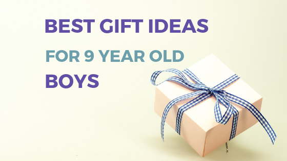 9 year old boys are so difficult to buy for, I know I have one! Here are some gift ideas for your 9 year old boy so you won't have the same issues. #giftguide #9yearold #9yearoldboys #giftideas