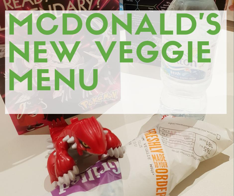 Mcdonald's new veggie menu