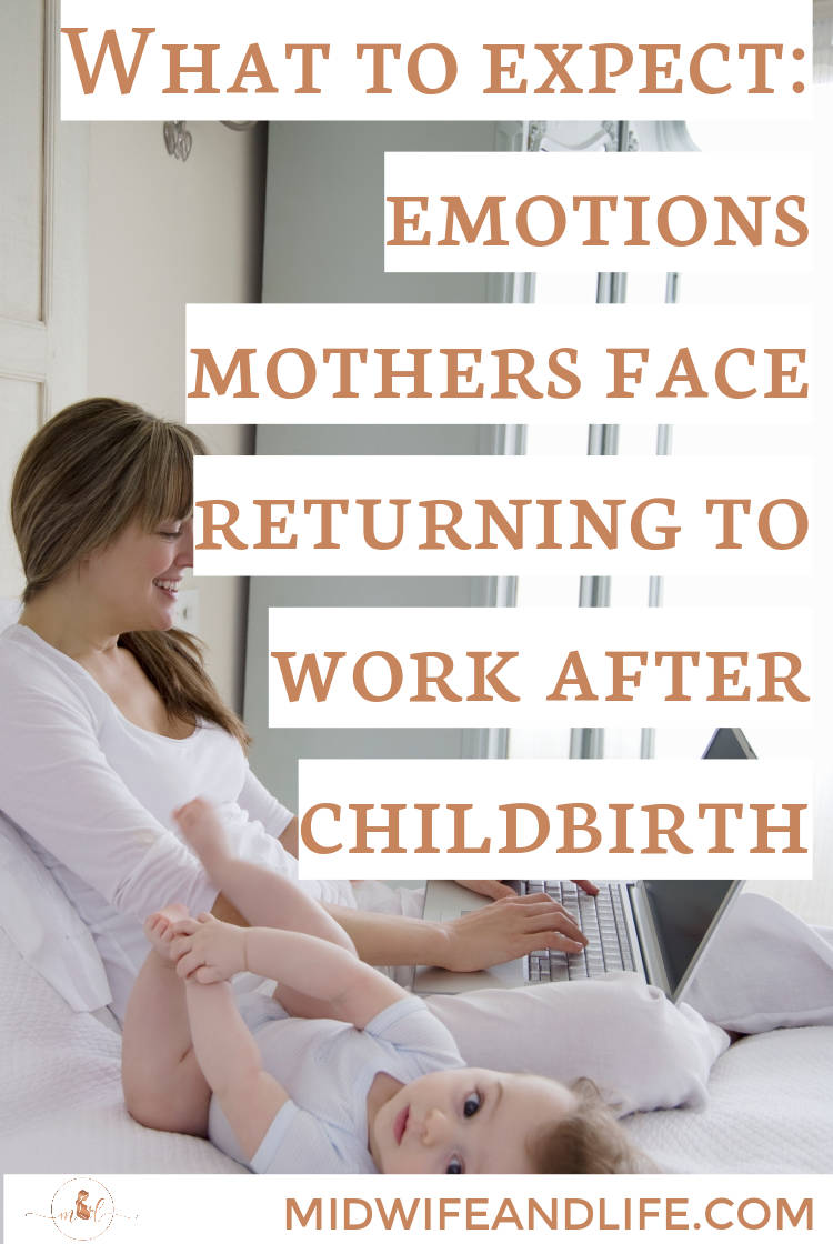 So your maternity leave is nearly up, what can you expect when your return to work after having a baby? A rollercoaster of emotions if you're normal! #maternityleave #returningtowork #childbirth #baby #pregnancy