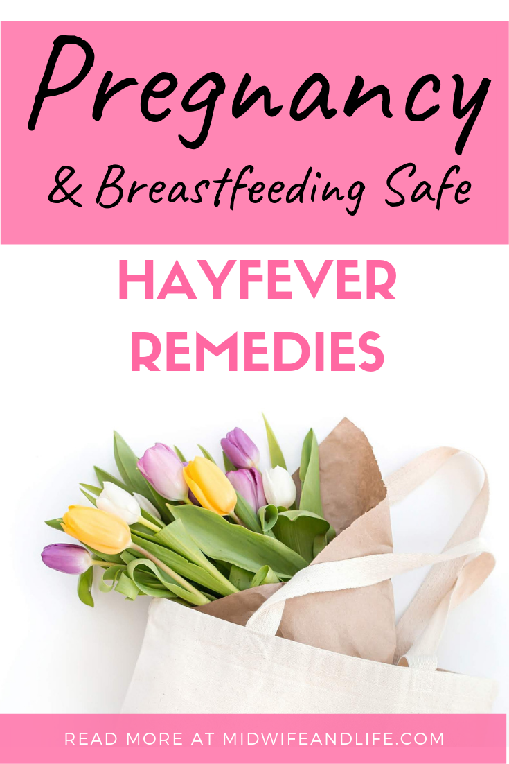 During the summer months hayfever left untreated can be a real pain, even more so during pregnancy and breastfeeding - what is safe to take for it? Click through to find out #pregnancy #breastfeeding #hayfever #safe #remedies #nasalspray #tablets #drops
