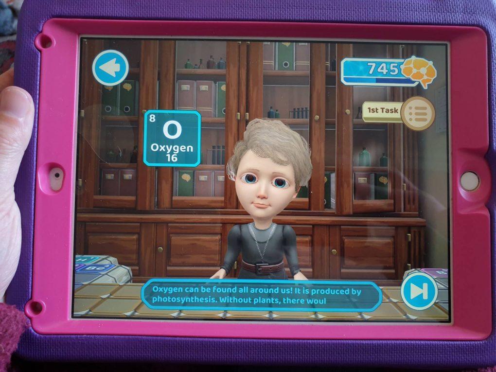 Marie Curie Human heroes app iOS