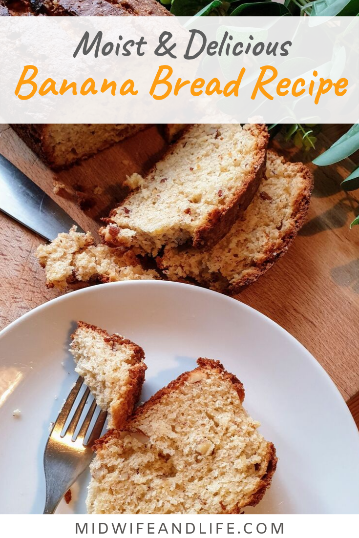 A banana bread to use up your over ripe bananas. Funny how the kids won't touch bananas past their best but will happily eat them in cake form! #recipe #bananabread #overripebananas #uk #bananacake #bestbananbread