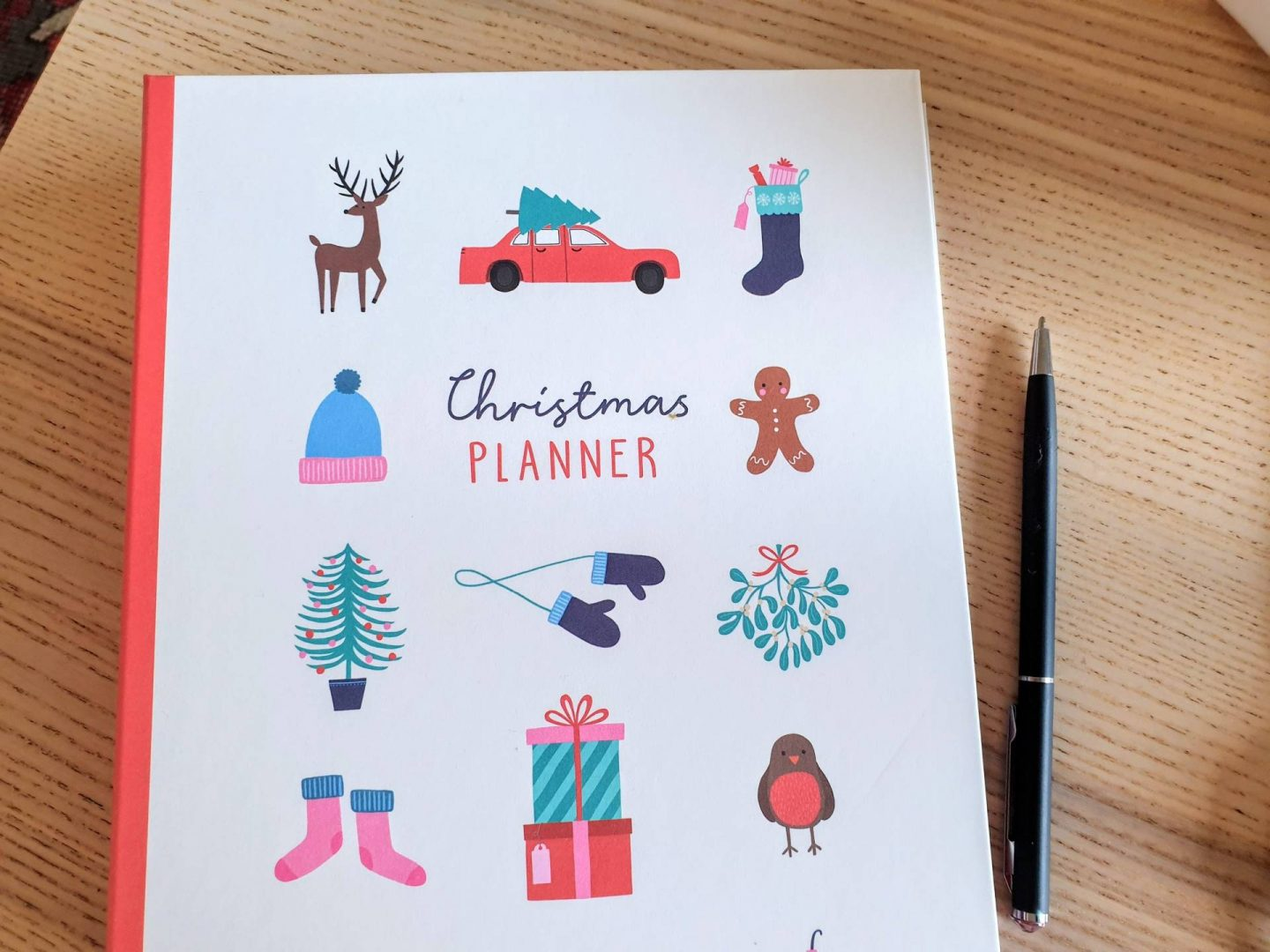 christmas planner from paperchase picture