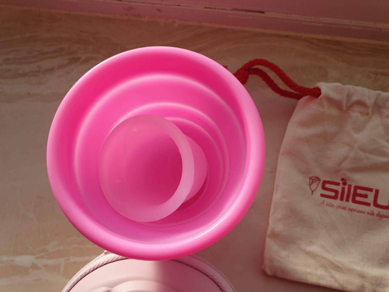 sileu cup and sterilser
